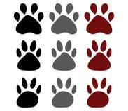 Hondpoten royalty-vrije illustratie