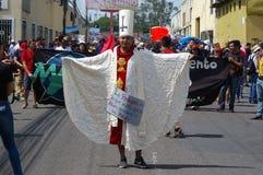 Honduas Tegucigalpa för Labour dag mars 2018 arkivbilder