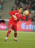 Honduran goalkeeper Ricardo Canales Stock Photo