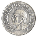 50 Honduran lempira centavos coin Stock Photography