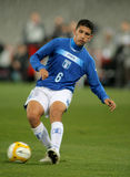 Honduran player Johnny Leveron Royalty Free Stock Photo