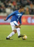 Honduran player Jorge Claros Royalty Free Stock Image