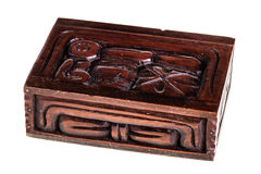 Honduran wooden box Stock Image