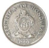 50 honduranskt lempiracentavos mynt Fotografering för Bildbyråer