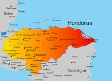 Honduras royalty free stock photos