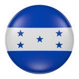 Honduras button Stock Photo