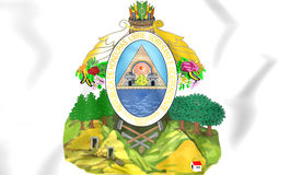 Honduras coat of arms. Royalty Free Stock Photography