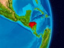 Honduras do espaço Foto de Stock