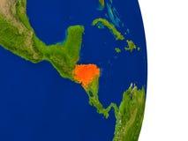 Honduras on Earth Stock Photo