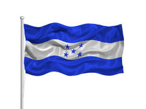 Honduras Flag 2 Royalty Free Stock Photo