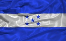Honduras Flag 3 Royalty Free Stock Images