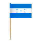 Honduras flag. Flag toothpick 10eps Stock Photos