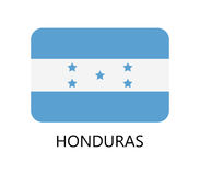Honduras flag Stock Photo