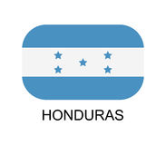 Honduras flag Stock Images