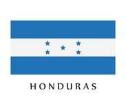 Honduras flag Royalty Free Stock Image