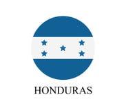 Honduras flag Royalty Free Stock Photos