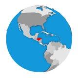 Honduras on globe Stock Photography