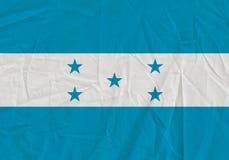 Honduras grunge flag. Patriotic background. National flag of Honduras vector illustration