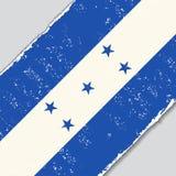 Honduras grunge flag. Vector illustration. Stock Photo