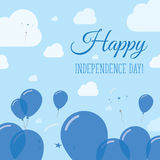 Honduras Independence Day Flat Patriotic Design. Stock Photography