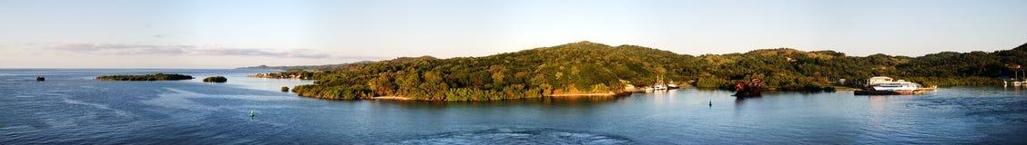 Honduras Island Panorama Royalty Free Stock Photo