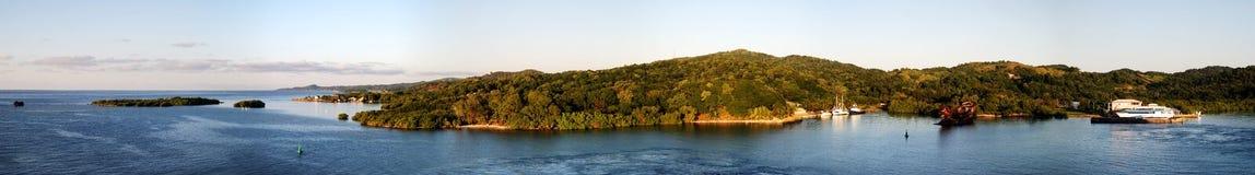 Honduras Island Panorama Royalty Free Stock Photography