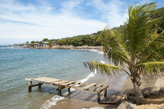 Honduras Island Town Royalty Free Stock Image