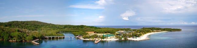 Honduras Mahogany Bay Stock Image