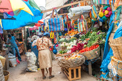 In Honduras am Markt Stockfotografie