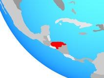 Honduras na kuli ziemskiej royalty ilustracja