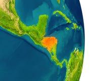 Honduras on planet Stock Images