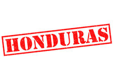HONDURAS. Rubber Stamp over a white background Stock Photo