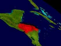 Honduras from space Stock Photos