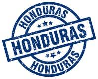 Honduras stamp. Honduras round grunge stamp  on white background Royalty Free Stock Photo
