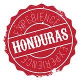 Honduras stamp rubber grunge Stock Image