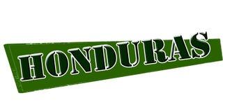 Honduras. Stamp with word Honduras inside,  illustration Royalty Free Stock Images