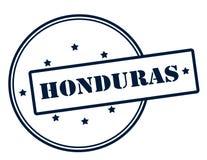 Honduras. Stamp with word Honduras inside,  illustration Royalty Free Stock Photo