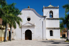 Honduras, View on the colonial San Fransisco church in Comayagua Stock Image
