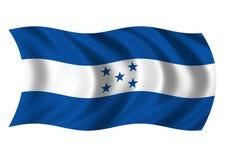 Honduras - vlag van Royalty-vrije Stock Foto's