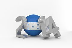 Honduras world cup 2014 Royalty Free Stock Photos