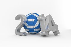 Honduras world cup 2014 Royalty Free Stock Image
