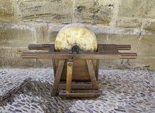 Hone abrasive. Grindstone, abrasive instrument craftsman, trade Stock Photography