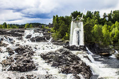 Honefoss Noruega Imagem de Stock Royalty Free