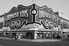 Honest EDS Department Store During the Day Stock Image