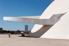 Honestino Guimaraes Museum Brasilia Brazil Stock Image