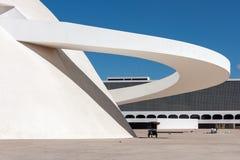 Honestino Guimaraes Muzealny Brasilia Brazylia obrazy stock