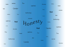 Honesty Illustration Stock Image
