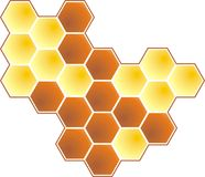 Honey 2d Royalty Free Stock Photography