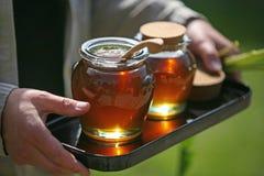 Honey. Fresh natural honey close up royalty free stock images