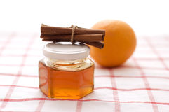 Honey And Orange Stock Image